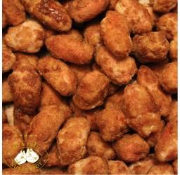 Frisch gebrannte Erdnüsse